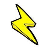 comic cartoon lightning bolt symbol royalty free illustration