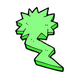 comic cartoon lightning bolt symbol Royalty Free Stock Images