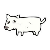 Comic cartoon little dog Stock Photography