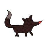 comic cartoon little wolf Stock Photo