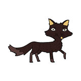 comic cartoon little wolf Royalty Free Stock Image