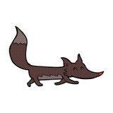 comic cartoon little wolf Royalty Free Stock Photos