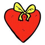 Comic cartoon love heart Stock Photos
