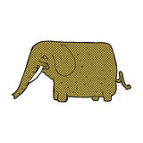 comic cartoon mammoth Stock Images