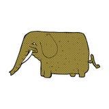 comic cartoon mammoth Stock Images