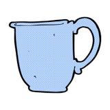 comic cartoon mug Royalty Free Stock Photography