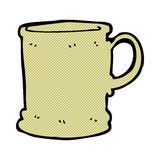 comic cartoon mug Royalty Free Stock Photos