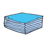 Comic cartoon note pads Royalty Free Stock Photos