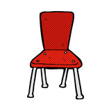 comic cartoon old school chair Stock Photos