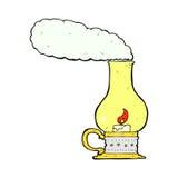 Comic cartoon old style lantern Stock Image