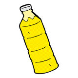 comic cartoon orange juice bottle Stock Photo
