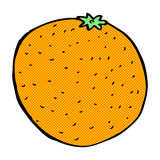 Comic cartoon orange. Retro comic book style cartoon orange Stock Images