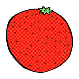 comic cartoon orange Royalty Free Stock Images