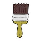 comic cartoon paint brush Stock Photos