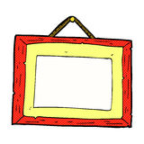 Comic cartoon picture frame Royalty Free Stock Photos