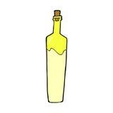 Comic cartoon posh bottle. Retro comic book style cartoon posh bottle Stock Photo