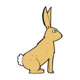 Comic cartoon rabbit Stock Photo
