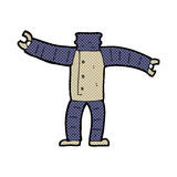 comic cartoon robot body (mix and match comic cartoons or add ow Royalty Free Stock Images