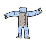 comic cartoon robot body (mix and match comic cartoons or add ow Stock Photos