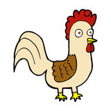 comic cartoon rooster Royalty Free Stock Images