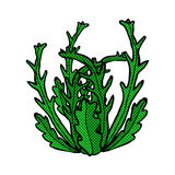 Comic cartoon seaweed Stock Photo