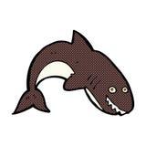 comic cartoon shark Royalty Free Stock Photo
