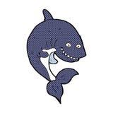 comic cartoon shark Royalty Free Stock Photography