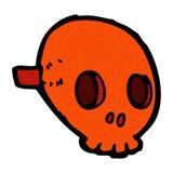 comic cartoon skull mask Royalty Free Stock Photography