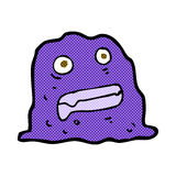Comic cartoon slime creature Stock Images