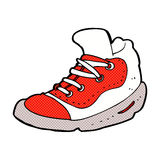 Comic cartoon sneaker Royalty Free Stock Image