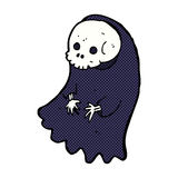 Comic cartoon spooky ghoul Royalty Free Stock Photography