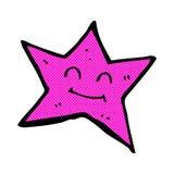 comic cartoon star character Stock Image