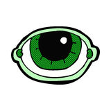 comic cartoon staring eye Royalty Free Stock Photos