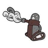 comic cartoon tank robot Royalty Free Stock Photography