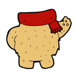 Comic cartoon teddy bear body (mix and match or add own photos). Retro comic book style cartoon teddy bear body (mix and match or add own photos Royalty Free Stock Photography