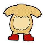 Comic cartoon teddy bear body (mix and match or add own photos). Retro comic book style cartoon teddy bear body (mix and match or add own photos Royalty Free Stock Photo