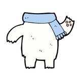 Comic cartoon teddy bear body (mix and match or add own photos). Retro comic book style cartoon teddy bear body (mix and match or add own photos Royalty Free Stock Image