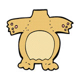 Comic cartoon teddy bear body (mix and match comic cartoons or a. Retro comic book style cartoon teddy bear body (mix and match retro comic book style cartoons Royalty Free Stock Images