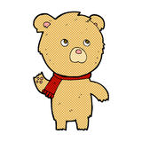 Comic cartoon teddy bear Royalty Free Stock Image