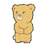 Comic cartoon teddy bear Royalty Free Stock Images