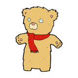 Comic cartoon teddy bear Stock Photography