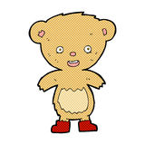Comic cartoon teddy bear Royalty Free Stock Photos
