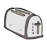 comic cartoon toaster Stock Photography