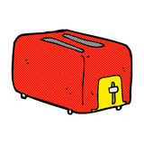 comic cartoon toaster Royalty Free Stock Photography