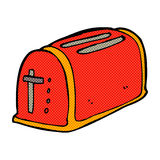 comic cartoon toaster Royalty Free Stock Images