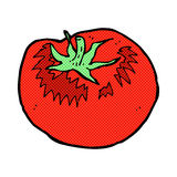 Comic cartoon tomato Royalty Free Stock Photo