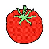 Comic cartoon tomato Stock Photos
