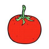 Comic cartoon tomato. Retro comic book style cartoon tomato Royalty Free Stock Photo