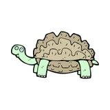 Comic cartoon tortoise Royalty Free Stock Photos
