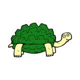 Comic cartoon tortoise Royalty Free Stock Photo